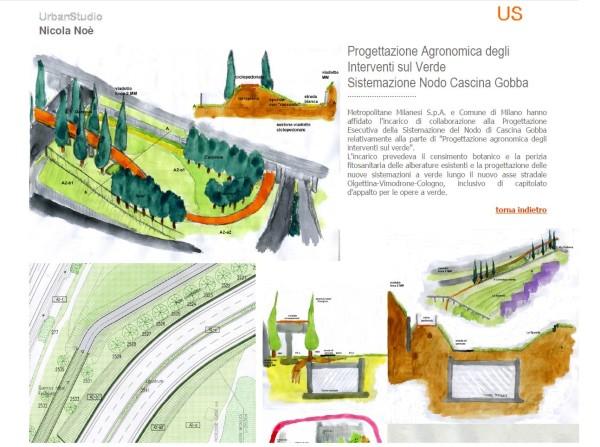 Progettazione Agronomica degli Interventi sul Verde Sistemazione Nodo Cascina Gobba
