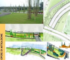 Progetti del verde e opere di mitigazione