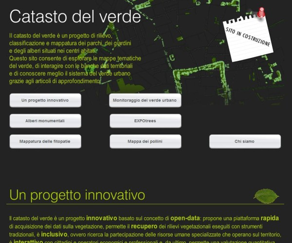 Catasto digitale del verde