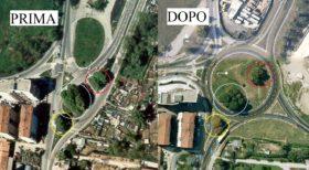 Sistemazione stradale Olgettina: quando si decide di non spostare gli alberi, ma di adattare l'opera