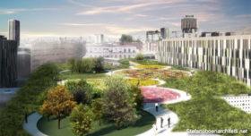 Il nuovo Policlinico di Milano avrà un giardino terapeutico sul tetto