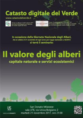 """Seminario """"Il valore degli alberi – capitale naturale e servizi ecosistemici"""""""
