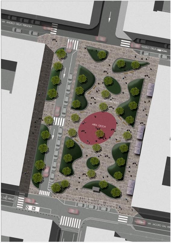 Piazzale Archinto (Isola Milano), più verde e meno movida: la riqualificazione