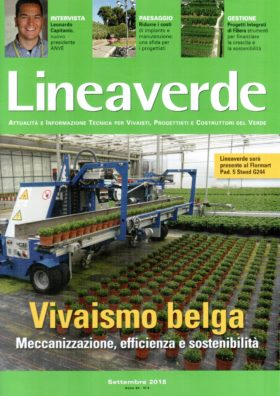 Catasto digitale del Verde pubblicato su LINEAVERDE