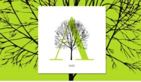 The Tree Alphabet was developed by Katie Holten, one of the first recipients of an artist-in-residency with NYC Parks