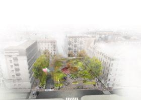 Partono i lavori per rifare Piazza Archinto