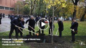 Giuseppe Conte at WFUF Milan Calling 2019 – Lifegate