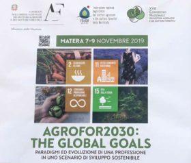 XVII Convegno nazionale dottori agronomi e dottori forestali a Matera