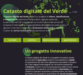 Il Catasto digitale del Verde