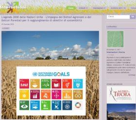 Intersezioni – Periodico di informazione e cultura professionale dell'Ordine dei Dottori Agronomi e dei Dottori Forestali di Milano